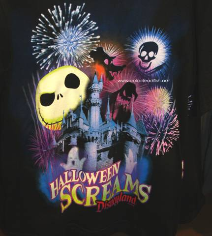 t shirt for halloween screams fireworks show